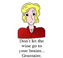 Don't let the wine go to your brains... Grantaire Photographic Print