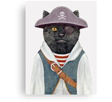 Pirate Cat Canvas Print