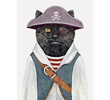 Pirate Cat Photographic Print