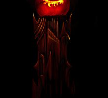The Jack O'Lantern of Barad-dûr by Norman Klein