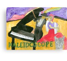 Kaleidoscope Music Album Cover Canvas Print