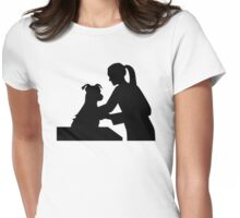 Female veterinarian Womens Fitted T-Shirt