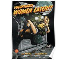 Voluptuous Women Eater! Poster