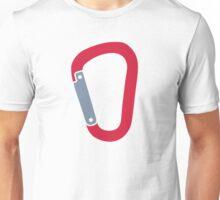 Climbing carabiner Unisex T-Shirt