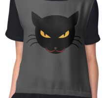 Evil Kitty Chiffon Top