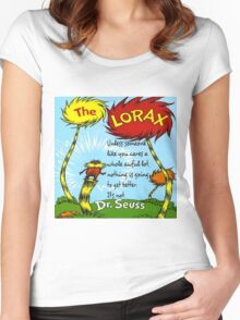 The Lorax Unless Some One Like You Women's Fitted Scoop T-Shirt