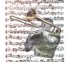 Trombonist Score by Bluesax