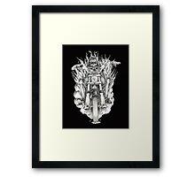 Forever a biker RH Framed Print