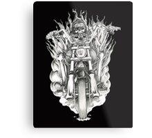 Forever a biker RH Metal Print