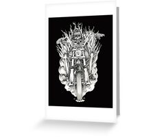 Forever a biker RH Greeting Card