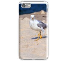 Seagull on the Jersey Shore  iPhone Case/Skin