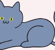 Russian Blue Cat Lover T-Shirts Sticker