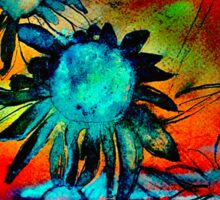 Echinacea Tropicale Sticker
