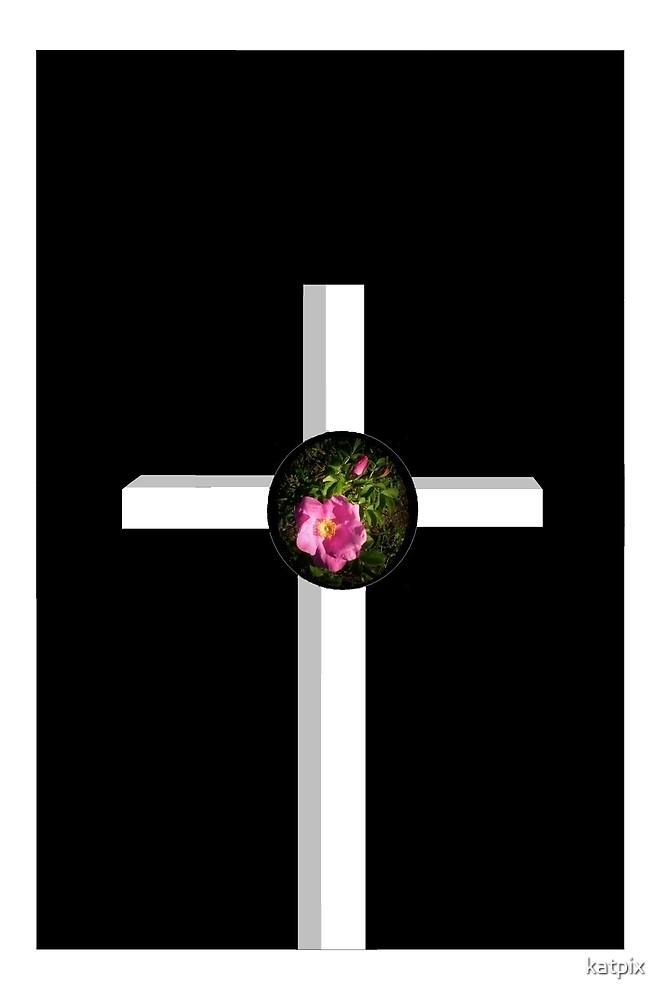 Rose Cross by katpix