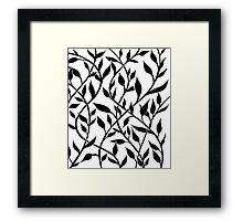 Graphic Vine Framed Print