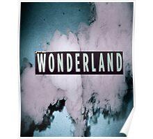 Wonderland Print Poster