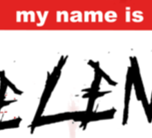 Hello my name is Helena - Name Tag Sticker