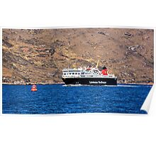 Isle of Lewis Ferry Poster