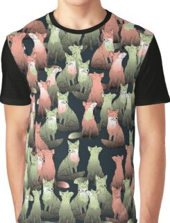 Sleeping foxes Graphic T-Shirt