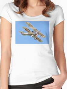 Bristol Scout Type C replica 1264 G-FDHB Women's Fitted Scoop T-Shirt