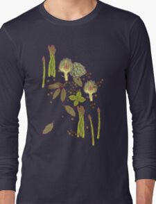 spring asparagus Long Sleeve T-Shirt