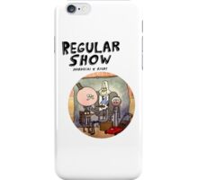 REGULAR SHOW (black) iPhone Case/Skin