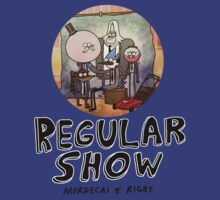 REGULAR SHOW (black) by SerjKazter