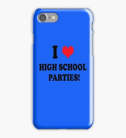High School Parties iPhone Case/Skin
