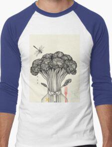 Mr. Broccoli Men's Baseball ¾ T-Shirt
