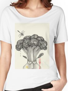 Mr. Broccoli Women's Relaxed Fit T-Shirt