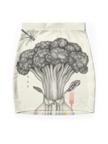 Mr. Broccoli Mini Skirt