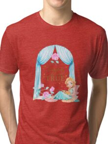 Beauty and the Beast Tri-blend T-Shirt