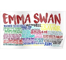 Emma Swan Quote Spam  Poster