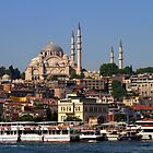Suleymaniye Mosque in Istanbul by Jens Helmstedt