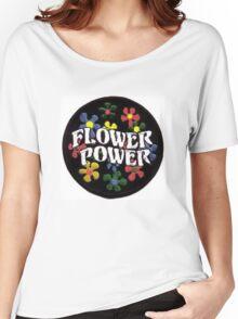 Flower Power Women's Relaxed Fit T-Shirt