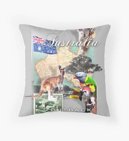 austraila  Throw Pillow