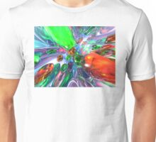 Colorful Glass Rings Unisex T-Shirt