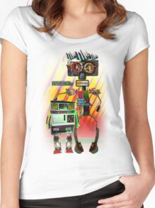 Wrobobrothers Women's Fitted Scoop T-Shirt