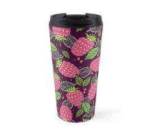 Juicy raspberries. Travel Mug