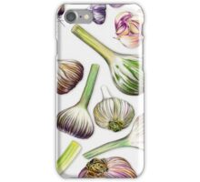 A Grouping of Garlic iPhone Case/Skin