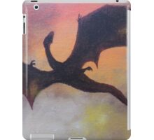 The fall of Smaug iPad Case/Skin