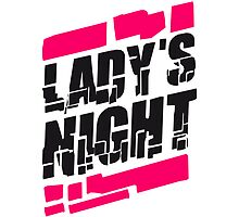 Logo party music ladies night by Style-O-Mat