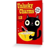 Unlucky Charms Greeting Card