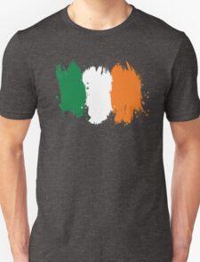 Ireland - Paint Splatter Unisex T-Shirt