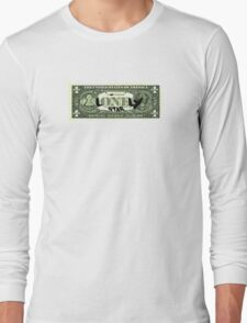 Lonely Star Dollar Bill Long Sleeve T-Shirt