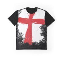 England - Paint Splatter Graphic T-Shirt