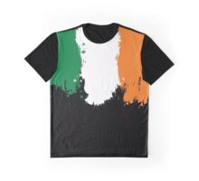 Ireland - Paint Splatter Graphic T-Shirt