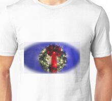 Festive Wreath Unisex T-Shirt