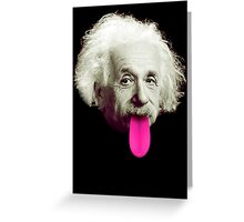 Einstein Eewing Greeting Card