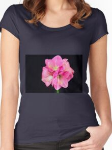 Graceful In Pink Women's Fitted Scoop T-Shirt